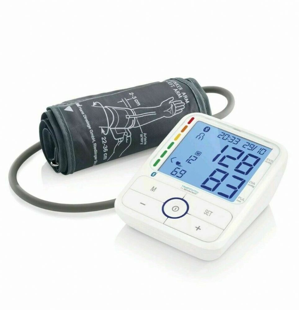 Health For You by SIlvercrest Upper Arm Blood Pressure Monitor NEW